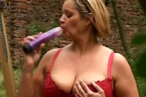 overweight mature housewife with big tits