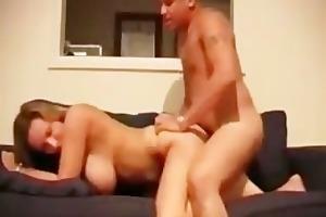 big mounds milf sucks wang then gets fucked hard