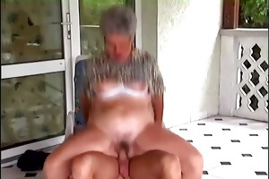 young guy fucking old bulky granny