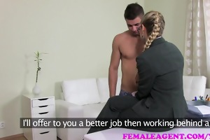 femaleagent incredibly shy stud receives mother i
