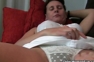 mature moms hirsute love tunnel receives the