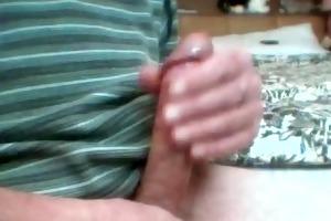 65 year old cock still pumping cum