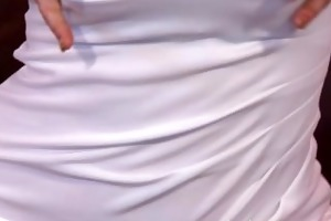 mama blonde bombshell teases to camera then has a