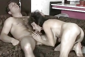hairy saggy granny fucks a juvenile cock
