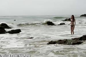 eroticax emma stoned in oceans edge