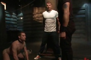 unrepining slave brutally screwed in the a-hole