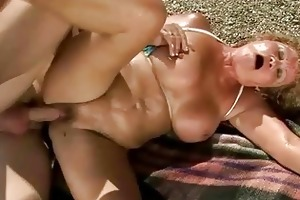 naughty old doxy getting fucked outdoor
