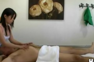 old dude gets a happy ending massage