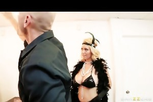 busty blonde burlesque dancer charlee chase fucks
