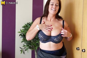 classy amateur mother with hungry cum-hole