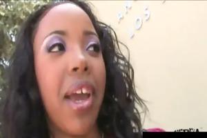 zebra girls - hot ebon babes screwed with big