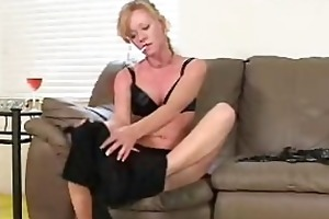 this drunk milf truly enjoys smoking her 120s!