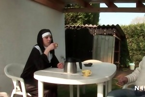 french nun anal fucked in some