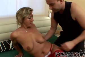 russian sexy gilf screwed !!