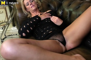 naughty mother with mature hungry vagina