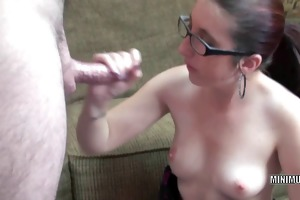 petite hottie gianna love is blowing a fortunate