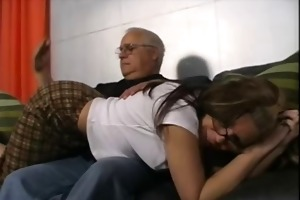 american pornstar tabitha james spanked by old man