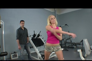 supple petite golden-haired legal age teenager