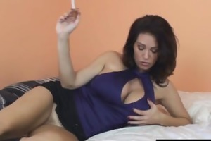 excited charlee follow smoking hawt cum-hole play
