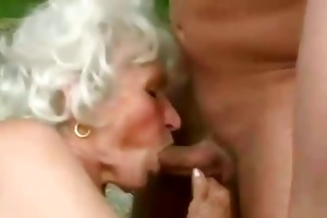 older granny get screwed by young man