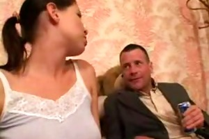 teen receives fucked by allies dad