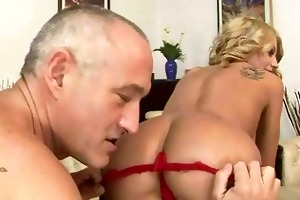 old guy fucking and licking youthful girl