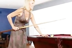 hot cougar bushy pussy massage