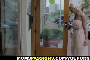 mamas passions - st lovemaking with breasty mommy