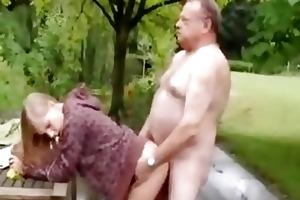 cute angel fucked by old smutty fellow