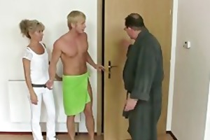 his mom and daddy tricks her into sex