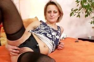 perverted older mom first time masturbation video
