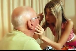 sexy juvenile girl gina fucking wrinkled grandpa