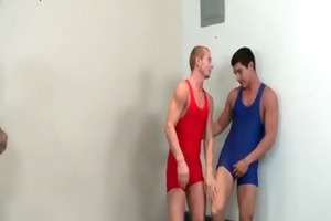 young chaps receive screwed by gay coarse dudes