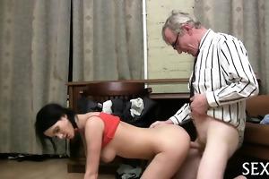 lascivious teacher devouring lass