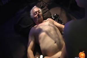 pleased sex-alloween night for grandpa
