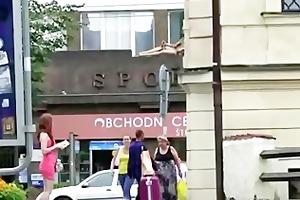ukrain girl screwed in public