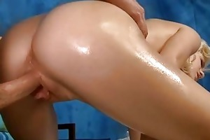 hawt 18 year old babe gets drilled hard