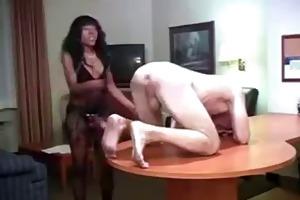 darksome angel makes white boy her floozy