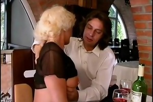 german mom enjoys her st anal sex