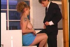 euro hottie seduces younger guy - dbm movie scene