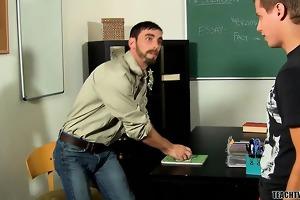 handsome and bushy teacher joe slams the hawt