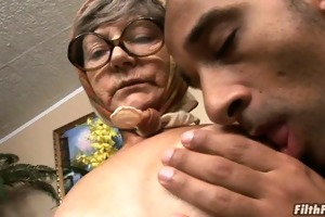 grey haired old lady desires dick!