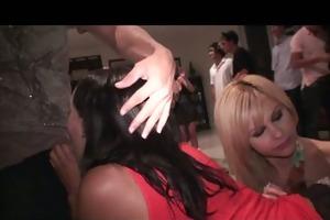 big tit brunette, blonde & lalin girl legal