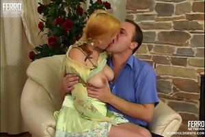 mature guy enjoys sex with young girl