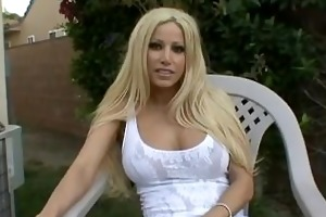 gina lynn interviewed in advance of shooting a