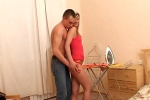 raunchy drilling for hot teen