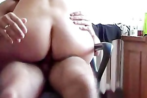 ride dick on office chair
