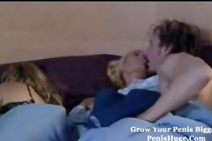 nasty daughter seduces boyfriend whilst mommy