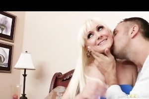shy blond milf torrey pines loves to fuck younger