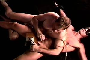 cbt i crush my young,hot,restrained, blindfolded